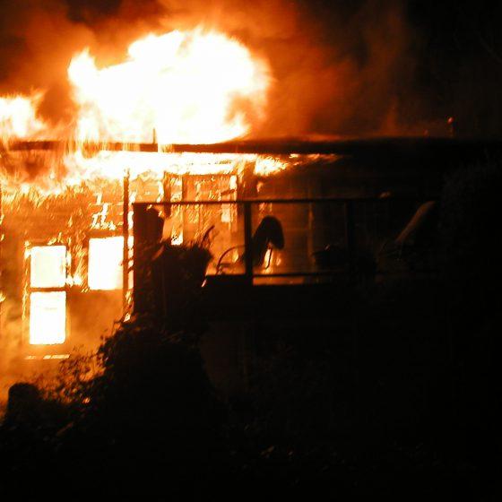 La Cuesta Structure Fire